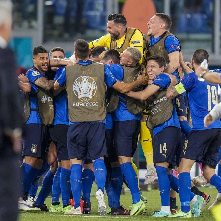 Италия - Уэльс - 1:0 Онлайн-трансляция матча Евро-2020