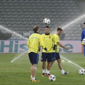 Верим в вас, ребята. Порошенко пожелал сборной Украины удачи на Евро-2016