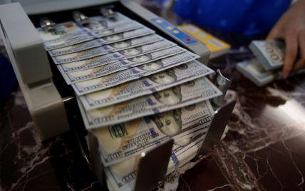 Долар і євро знову здорожчали в курсах Нацбанку на четвер. Інфографіка