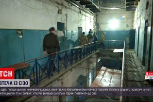 Новини України: поліція Одеси затримала чоловіка, який втік із СІЗО