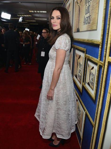 Кира Найтли на церемонии Writers Guild Awards-2015, февраль 2015 / © Getty Images/Fotobank