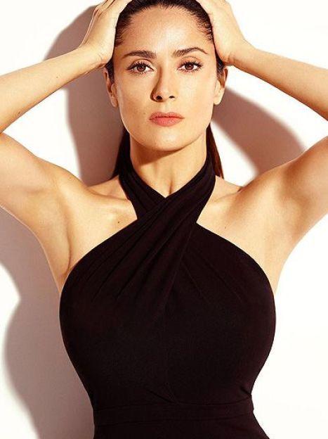 Сальма Хайек в фотосессии для французского Madame Figaro / ©
