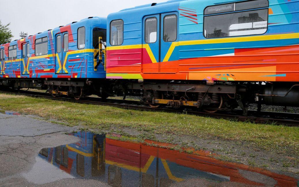Потяг курсуватиме  на червоній гілці / © Reuters