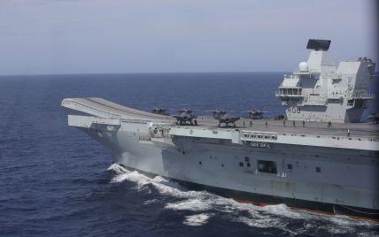 У Міноборони Великої Британіїзаперечили інформацію про обстріл їхнього есмінця в Чорному морі