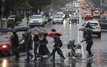 В Киеве и области объявлено штормовое предупреждение