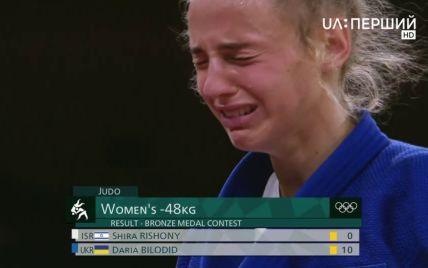 """""""Очень помогла мама"""": эмоции Билодид после завоевания первой украинской медали на Олимпиаде-2020"""