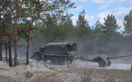 Силы АТО отвели артиллерию калибром до 100 мм на Артемовском направлении