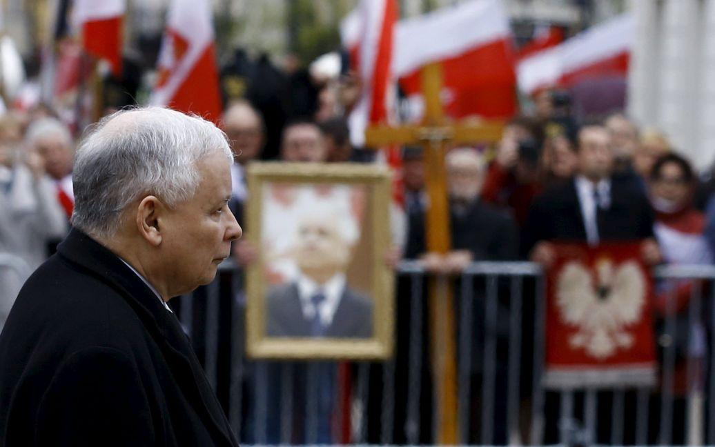 Ярослав Качиньский, брат-близнец погибшего Леха / © Reuters