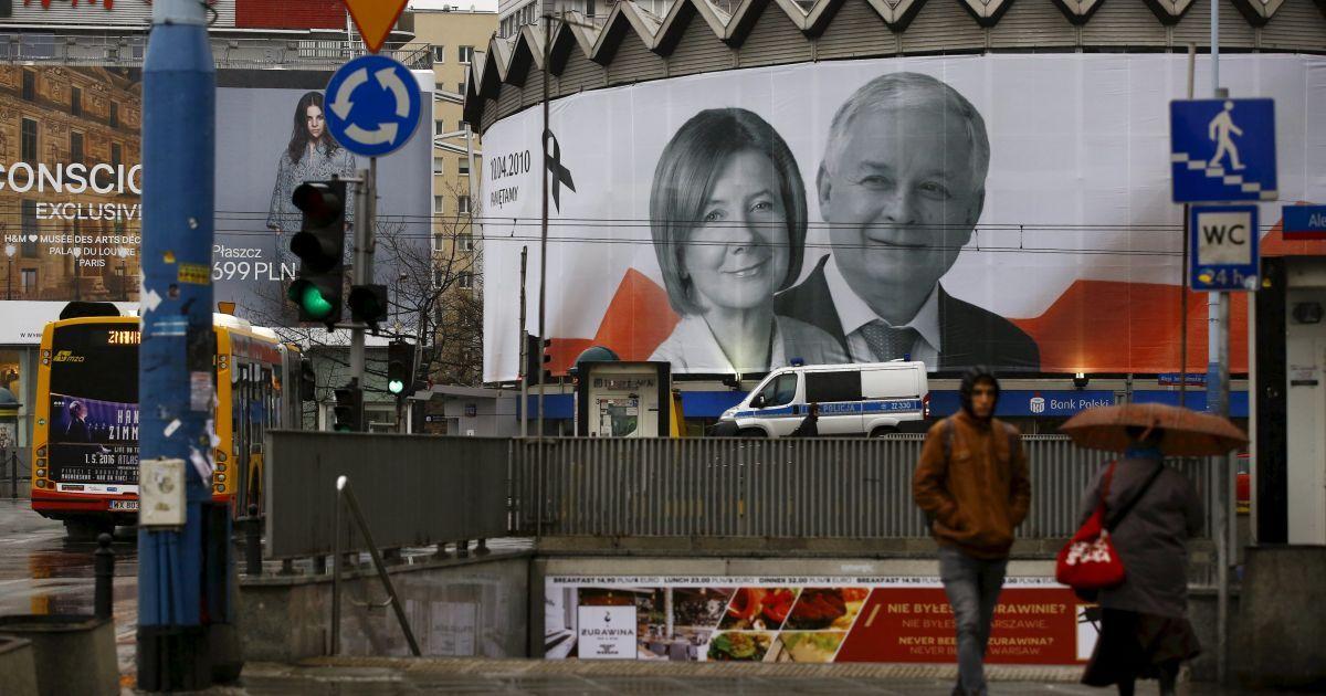 Лех Качинський та його дружина / © Reuters