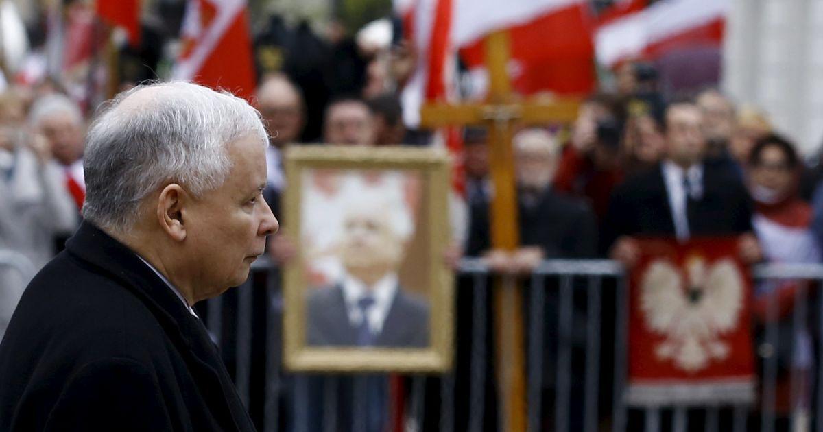 Ярослав Качинський, брат-близнюк загиблого Леха / © Reuters