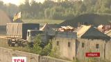 Нефтебаза под Васильковом догорает