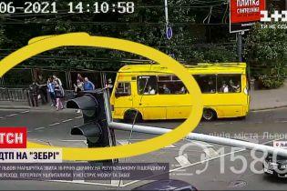 Новости Украины: во Львове маршрутка сбила 16-летнюю девушку на пешеходном переходе