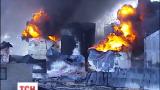На нефтебазе вторые сутки пытаются потушить пожар