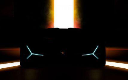 Lamborghini показала тизер нового гіперкара