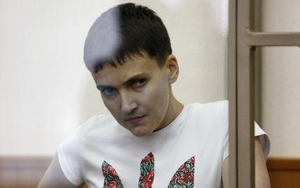 Організм Савченко не сприймає не лише їжу, але й воду – дипломати