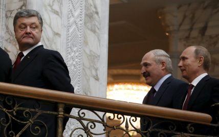 Лукашенко не дозволить використовувати територію країни для наступу РФ на Україну - Порошенко