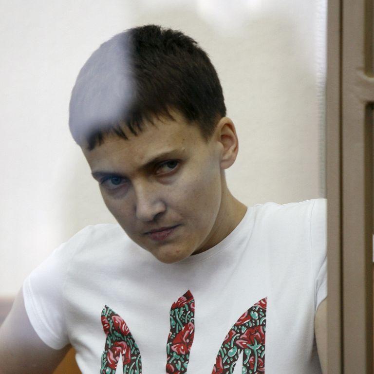 Российский омбудсмен просит тюремщиков пустить к Савченко украиснких врачей