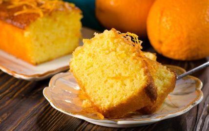 Смачне і ніжне доповнення до кави та чаю: рецепт пісного апельсинового манника