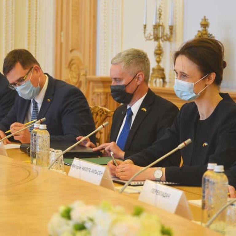Литва допоможе Україні з COVID-вакцинацією — спікер Сейму