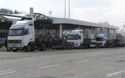 На украинско-польской границе выстроились длинные автомобильные очереди