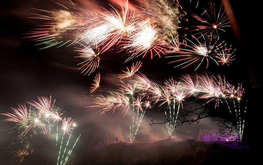 Святкування Нового року в Единбурзі, Шотландія. / © Getty Images