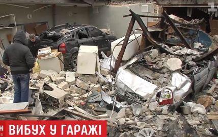 В Киеве взорвался гараж вместе с автомобилем