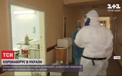 Київські лікарні заповнюють важкі хворі на коронавірус: із 35 пацієнтів лише троє не потребують кисню