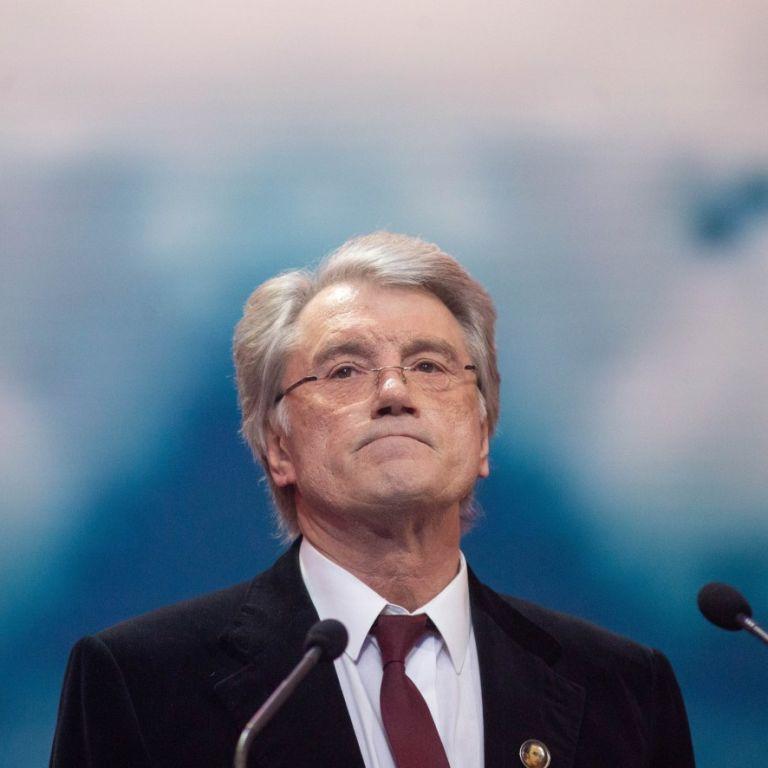 Віктор Ющенко показав фото з дорослими дітьми
