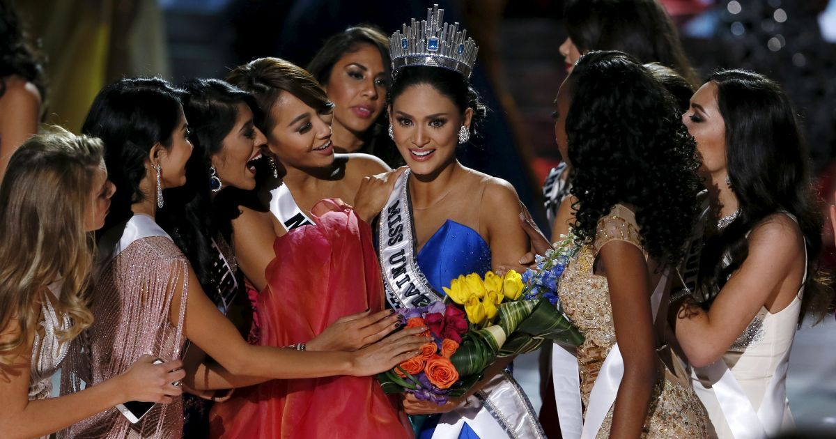 """Конкурсантки """"Міс Всесвіт 2015"""" / © Reuters"""