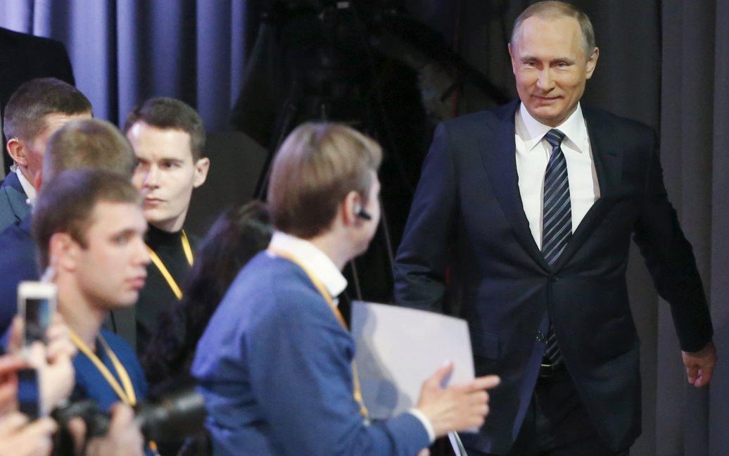 Путин ответил на вопросы журналистов / © Reuters