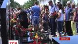 Мемориал экипажа самолета ИЛ-76 установили на Мелитопольском кладбище