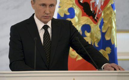 """Ни слова. Путин """"забыл"""" упомянуть Украину в ежегодном послании"""