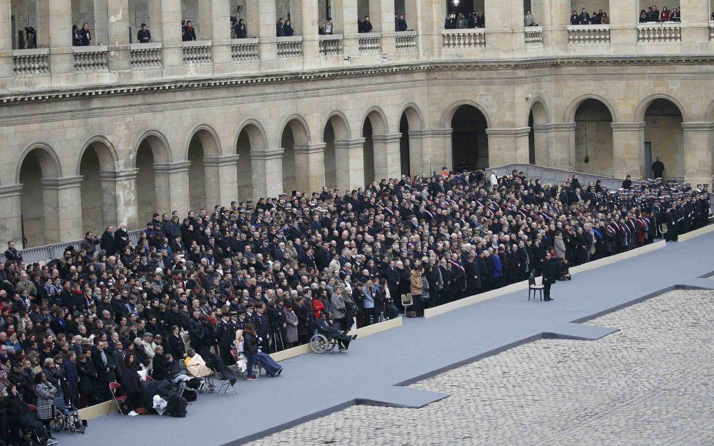 Официальная церемония состоялась в Доме инвалидов. / © Reuters