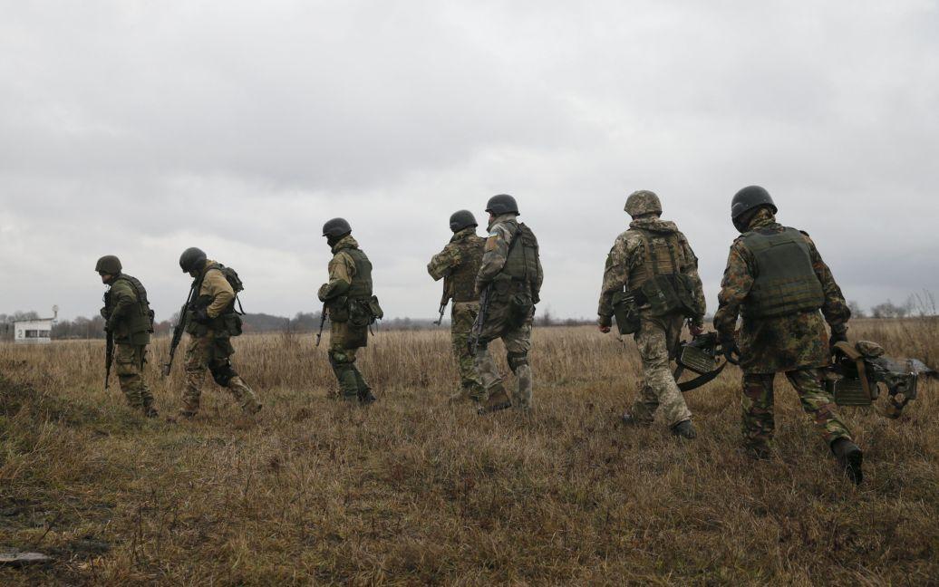 На полигоне в Хмельницкой области состоялись учения украинских военных. / © Reuters