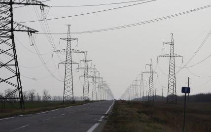 Поставки электроэнергии в Крым по одной из ЛЭП возобновятся в течение часа