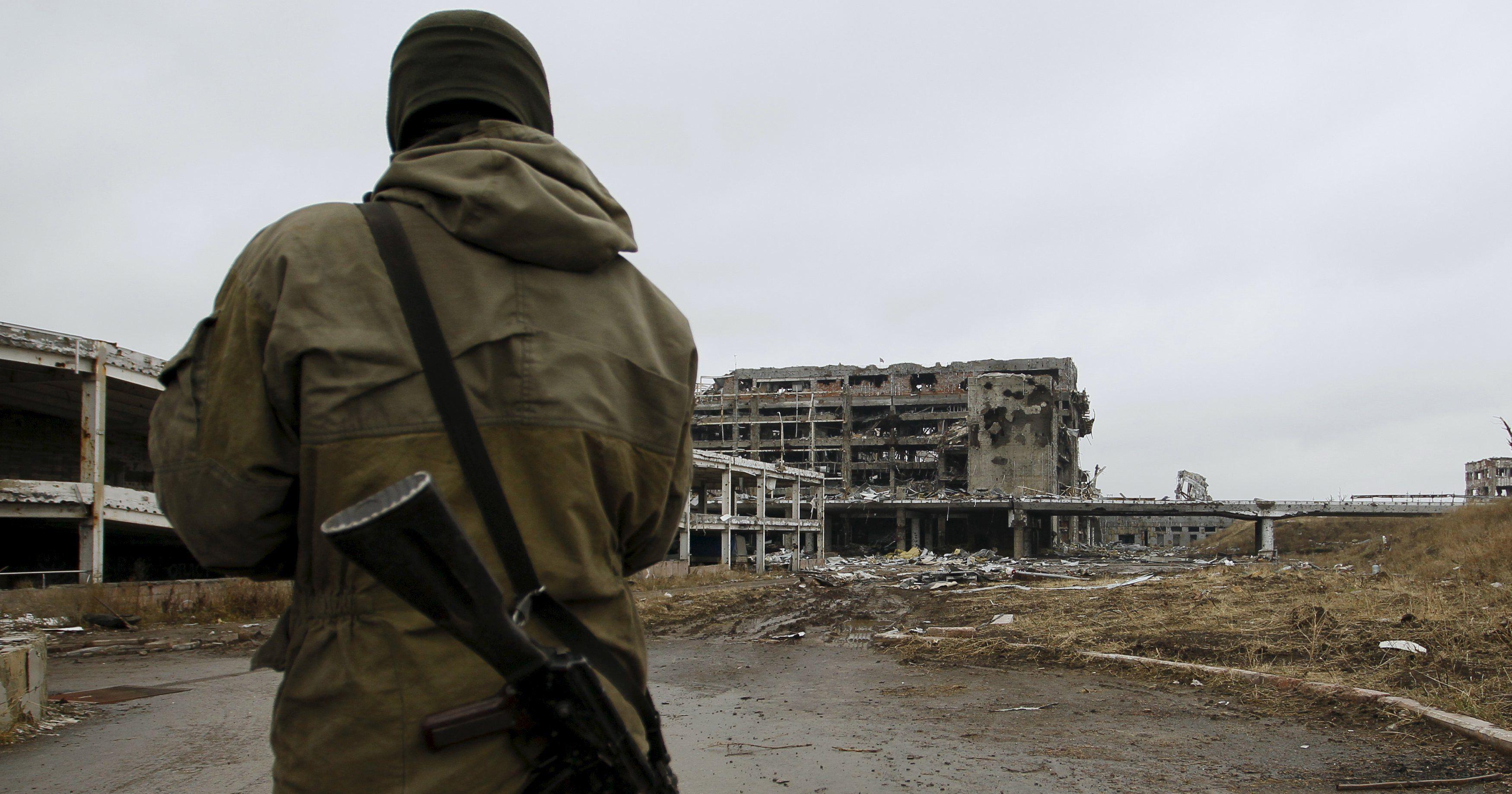 Ночь в зоне АТО. Боевики лупят по военным из минометов и гранатометов