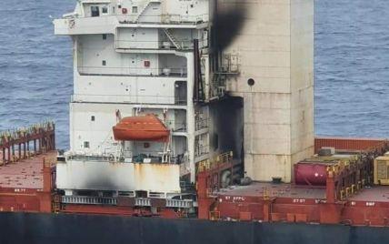 В Индийском океане во время пожара на судне погиб 20-летний моряк из Одессы