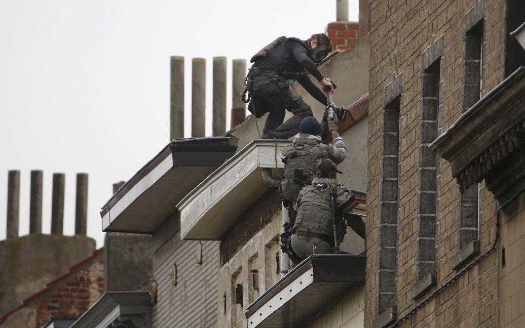 Спецоперация по задержанию террористов в Бельгии. / © Reuters
