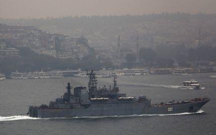 У російських кораблів почалися проблеми з проходженням Босфору