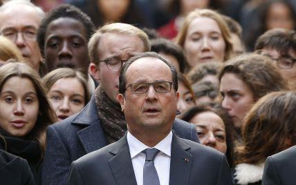 Олланд стремится к коалиции с Обамой и Путиным после терактов в Париже
