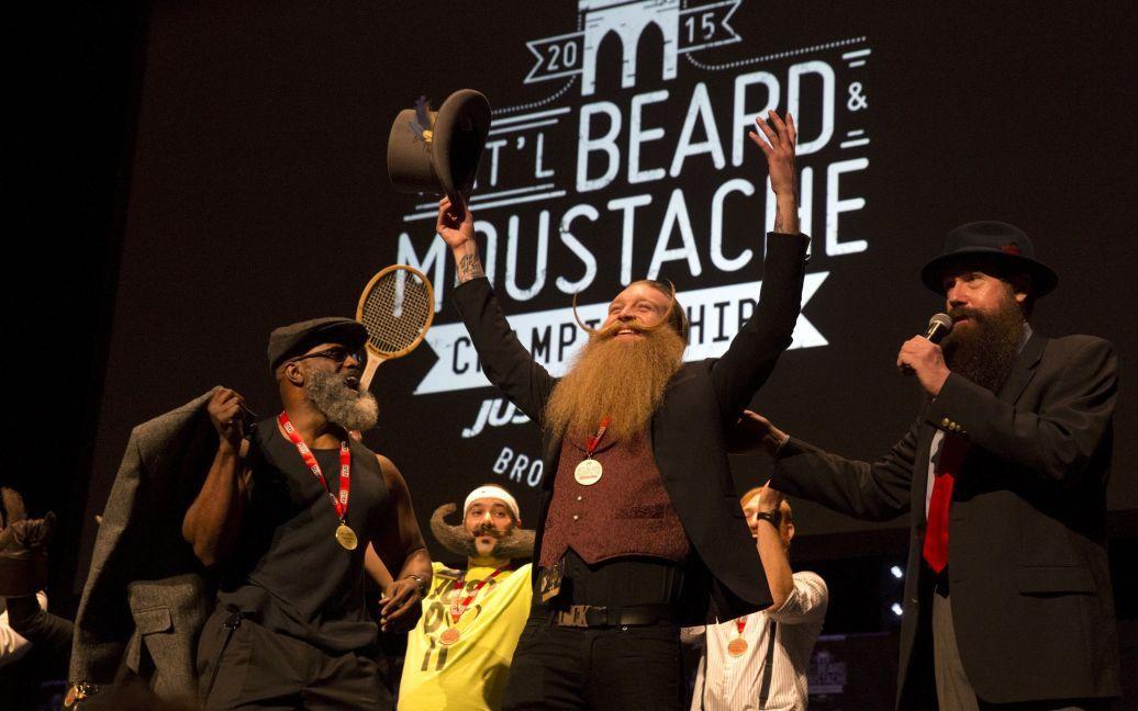 Скотт Метц - обладатель лучшей бороды. / © Reuters