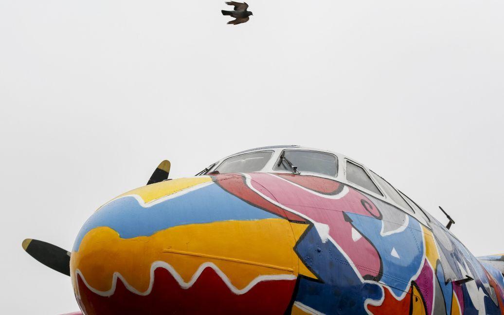 В Жулянах появился живописный АН-24 / © Reuters