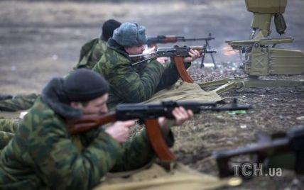 Под Песками боевики тремя группами пехоты атаковали силы АТО