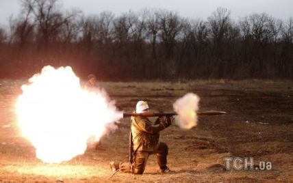 Обстрелы боевиков возле Донецка и отвод украинских минометов. Карта АТО