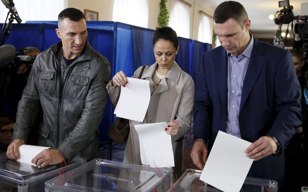 Украина голосует / © Reuters