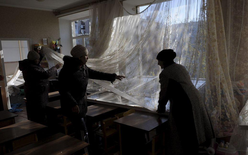 В городе разрушены дома / © Reuters