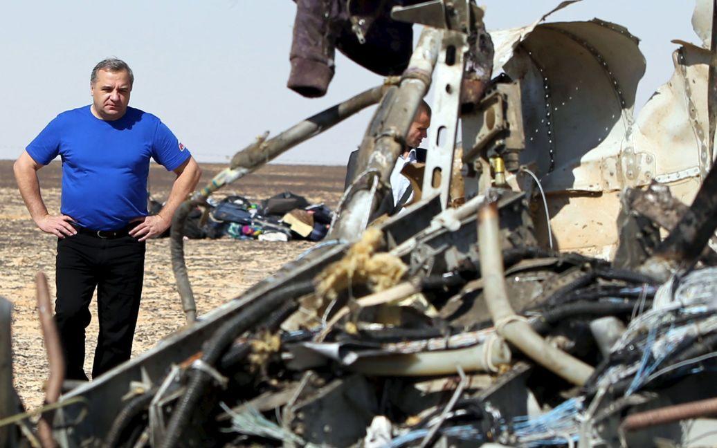 Обломки самолета разлетелись на 30 километров / © Reuters