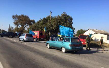 На адмінкордоні з Кримом триває безстрокова блокада півострова. Онлайн-трансляція