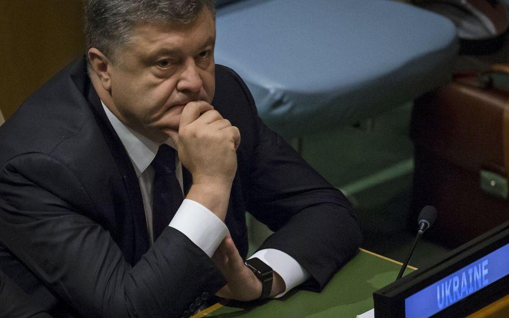 У Порошенко отчитались о работе сервиса петиций / © Reuters