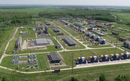 Україна заповнила підземні сховища газом на зиму майже наполовину